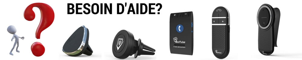 aide questions veopulse kit main libre support telephone